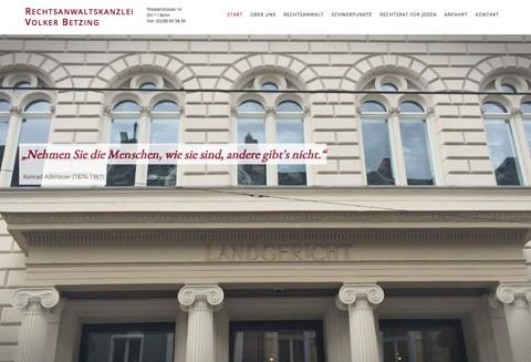 Anwaltskanzlei Volker Betzing – Rechtsanwalt für Verkehrsrecht in Bonn in Bonn