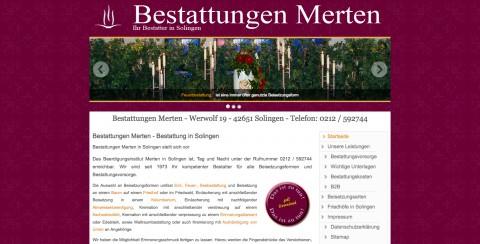 Bestattungen Merten in Solingen: in Solingen