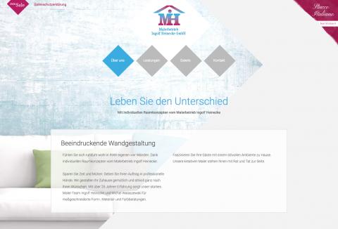 Malerbetrieb Ingolf Heinecke GmbH: Fassadenarbeiten in Neuenhagen in Neuenhagen