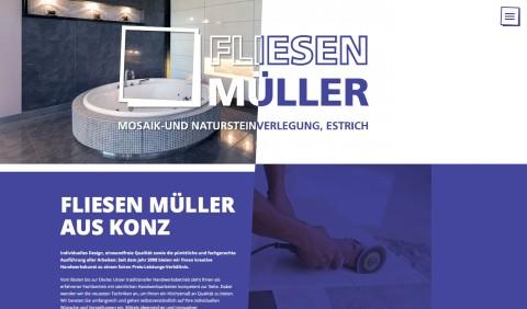 Fliesenleger in Konz: Fliesen-, Mosaik- und Natursteinverlegung Ralf Müller in Konz