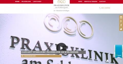 Implantologie in Düsseldorf – Praxisklinik am Schlosspark in Düsseldorf