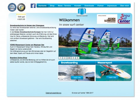 Der Onlineshop für den leidenschaftlichen Wintersportler in Traunreut