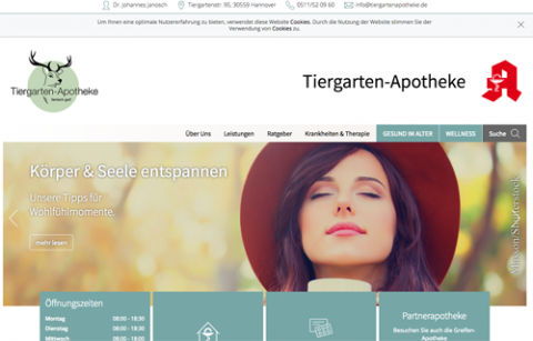 Tiergarten-Apotheke in Hannover: in Hannover