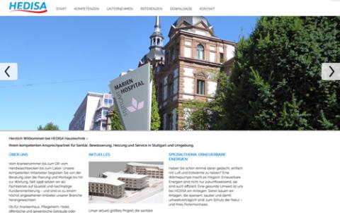 HEDISA Haustechnik GmbH in Stuttgart in Stuttgart