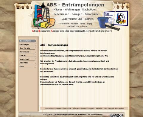ABS – Entrümpelungen Silke Braun in Krefeld in Krefeld