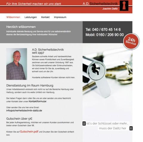 Sicherheitstechnik Joachim Dalitz, Schlüsselnotdienst in Hamburg in Hamburg