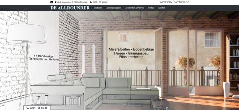 Ihr Partner für eine professionelle Sanierung in Rostock: De Allrounder Scheibner in Rostock