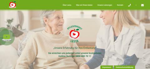 Ambulante Krankenpflege bei Lesta in Frankfurt in Friedberg