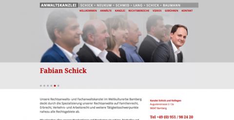 Ein zuverlässiger Rechtsanwalt in Bamberg: Die Rechtsanwaltskanzlei Schick, Neukum, Schmid, Lang GbR in Bamberg