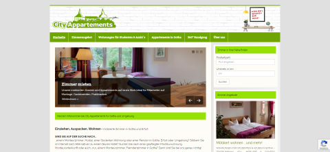 Arbeiter- und Monteurunterkünfte in Gotha: City Appartements Thüringen in Gotha
