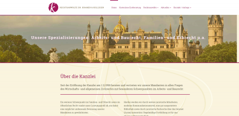 Arbeitsrecht in Schwerin: Rechtsanwälte Dr. Kramer und Kollegen in Schwerin