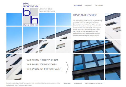Hauskauf mit einem Bausachverständigen: Architekt und Sachverständiger Dipl.-Ing. Bernd Heep in Köln in Köln