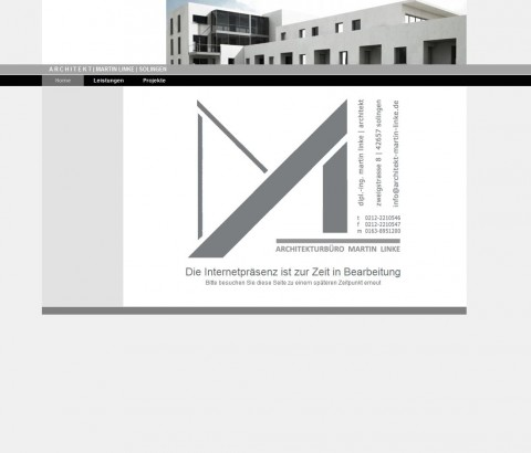 Architekt Martin Linke in Solingen in Solingen