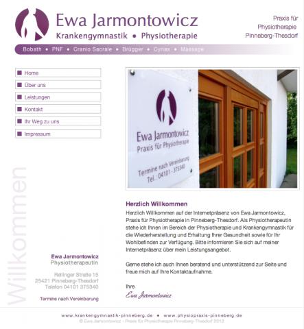 Praxis für Physiotherapie Ewa Jarmontowicz in Pinneberg in Pinneberg