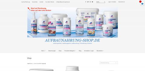 Ihr Partner für Andickungspulver: Aufbaunahrung-Shop.de in Eppelheim