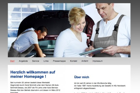 ASG Auto Service Gerngroß in Dessau in Dessau-Roßlau