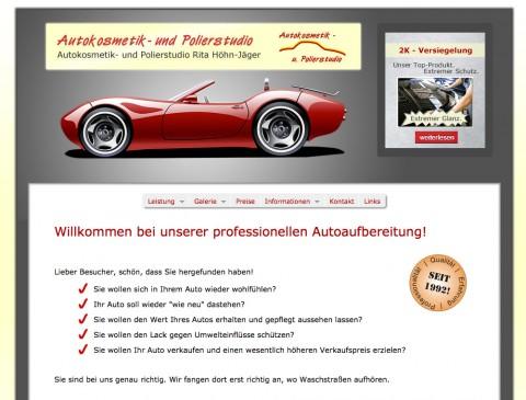 Autokosmetik und Polierstudio Rita Höhn-Jäger in Wetzlar in Wetzlar