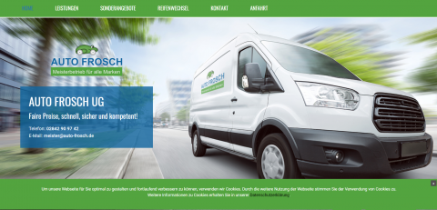 Vertrauenswürdige Kfz-Werkstatt in Kamp-Lintfort: Auto Frosch in Kamp-Lintfort