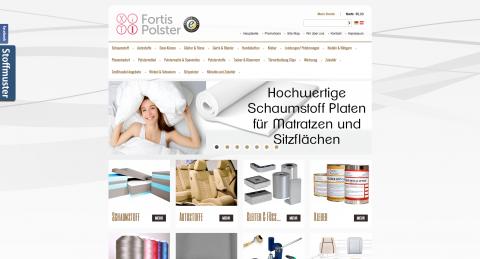 Autostoffe Onlineshop: FORTIS Tomasz Jakubow e.K. in Hoyerswerda