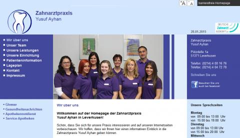 Zahnarzt in Leverkusen: Zahnarztpraxis Yusuf Ayhan in Leverkusen