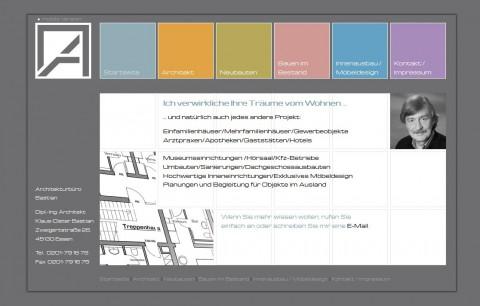 Dipl.-Ing. Klaus-Dieter Bastian, Architekt in Essen in Essen