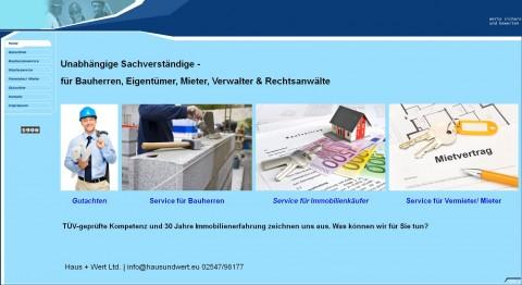 Bausachverständige in Rosendahl bei Münster: Haus + Wert Ltd. in Rosendahl