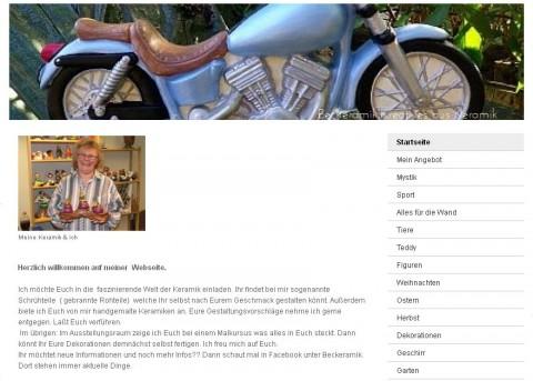 Geschenkartikel aus Keramik – Beckeramik in Marienheide in Marienheide