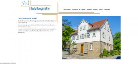 Ihr Bestatter in Marbach: Fink Bestattungsinstitut in Marbach