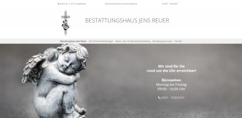 Der Bestatter Ihres Vertrauens: Bestattungshaus Jens Reuer in Magdeburg in Magdeburg