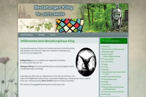 Bestattungshaus Kling in Köln in Köln