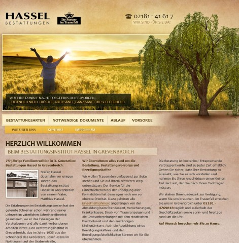 Bestattungen Hassel in Grevenbroich in Grevenbroich