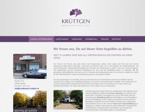 Beerdigungsinstitut Krüttgen GmbH in Aachen in Aachen