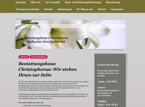 Bestattungen in Halle: Bestattungshaus Christophorus in Halle (Saale)