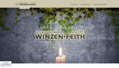 Bestattungshaus Winzen & Feith in Köln: Ihre Stütze im Trauerfall in Köln