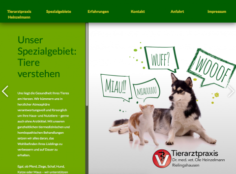 Tierarztpraxis Dr. med. vet. Ole Heinzelmann in Marbach in Marbach