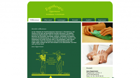 Moderne Ergotherapie in Brandenburg: Ergotherapie Oppermann in Brandenburg
