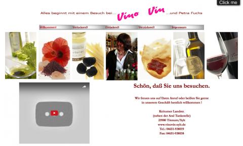 Geniesserparadies Vino Vin in Tinnum auf Sylt in Sylt
