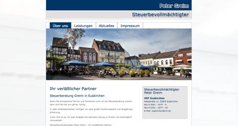 Erbrecht in NRW: Steuerbevollmächtigter Peter Greim in Euskirchen in Euskirchen