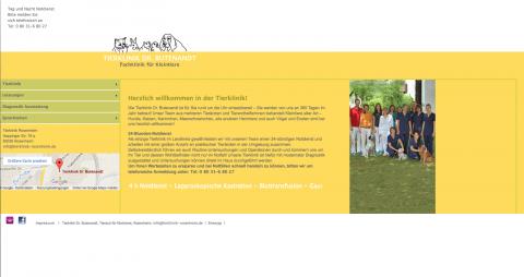 Engagierte Tierärzte für Klein- und Haustiere: Tierklinik Dr. Dirk Butenandt in Rosenheim