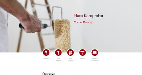Individuelle Raumkonzepte vom Malerbetrieb Hans Kornprobst: Die fachmännischen Maler im Raum Neufahrn bei Freising in Ismaning