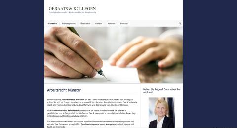 Arbeitsrecht und Scheidungsrecht, Fachanwältin Gabriele Ostermeier,  Kanzlei Geraats Münster in Münster