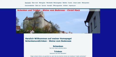 Exklusive Weine vom Bodensee in München in München