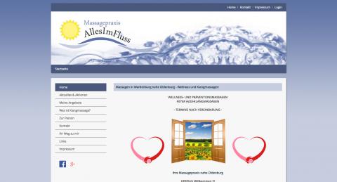 Tiefenentspannung in der Massagepraxis AllesImFluss bei Oldenburg in Wardenburg