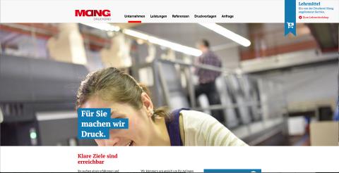 Die Druckerei Mang GmbH + Co. KG  in Rednitzhembach