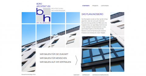 Architekt und Bausachverständiger Dipl.-Ing. Bernd Heep: Der Architekt mit Tradition in Köln in Köln