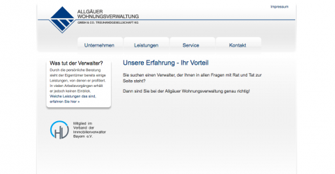 Allgäuer Wohnungsverwaltungsgesellschaft mbH & Co. Treuhandgesellschaft KG  in Kaufbeuren