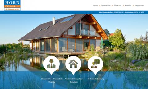 Immobilienverkauf in Neubrandenburg: HORN IMMOBILIEN GMBH  in Neubrandenburg