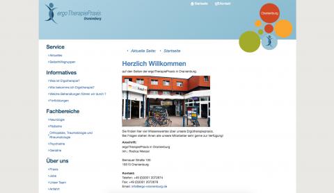 ergoTherapiePraxis in Oranienburg in Hennigsdorf