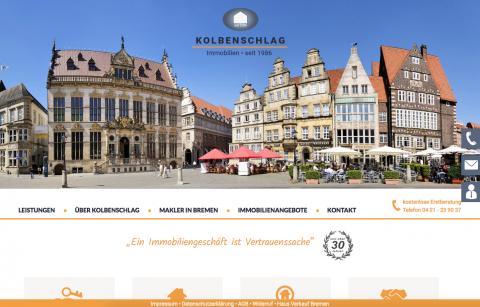 Immobilienbüro in Bremen: Kolbenschlag Immobilien in Bremen