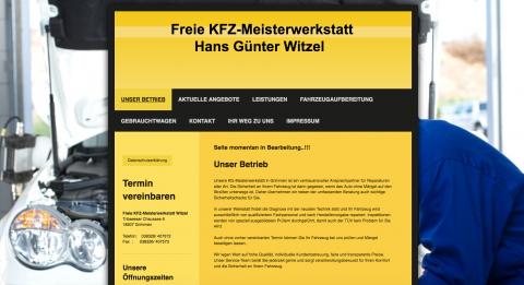 An- und Verkauf von Gebrauchtwagen: Kfz-Meisterwerkstatt Witzel in Grimmen